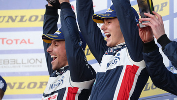 A great win in ELMS finalé . . . a confidence booster for Asia LMS and beyond