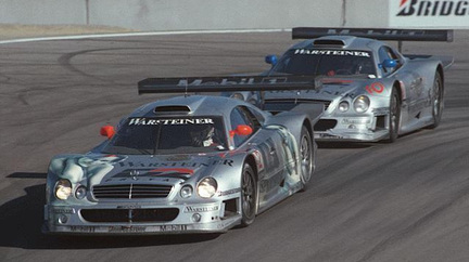 Favourite Race Car Mercedes GT1
