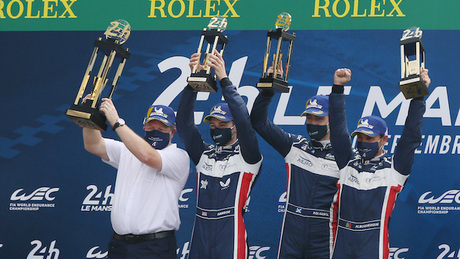 Hanson claims his maiden Le Mans 24 Hour race victory