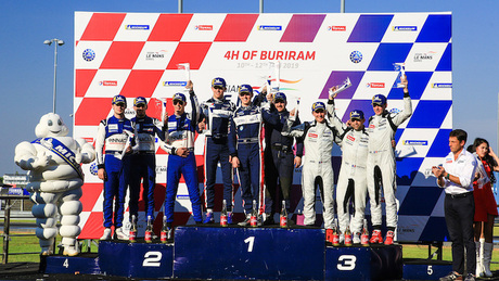 Phil Hanson claims emphatic maiden outright Asian LMS race victory