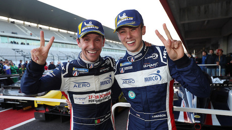 A great win in ELMS finalé . . . a confidence booster for Asia LMS and beyond for Phil Hanson