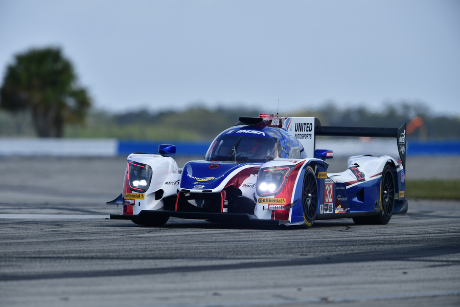 Phil Hanson completes testing for 12 Hours of Sebring
