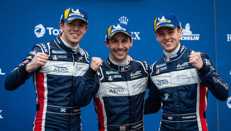 Hanson heads FIA World Endurance LMP2 championship in to second half of 2019-20 season