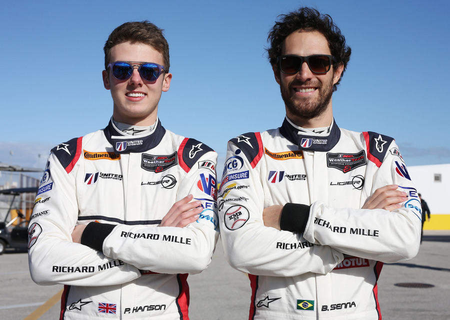 Phil Hanson and Bruno Senna team up for Tequila Patron North American Endurance Cup